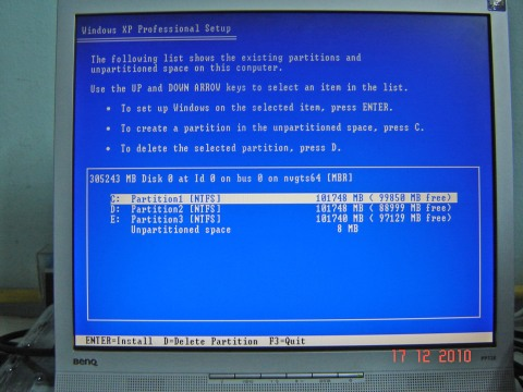 how to set nvidia driver install location