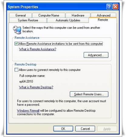 how to tell if computer is 64 bit windows xp