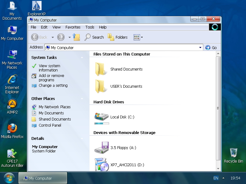 Pre-install of AHCI drivers on WIndows XP x64