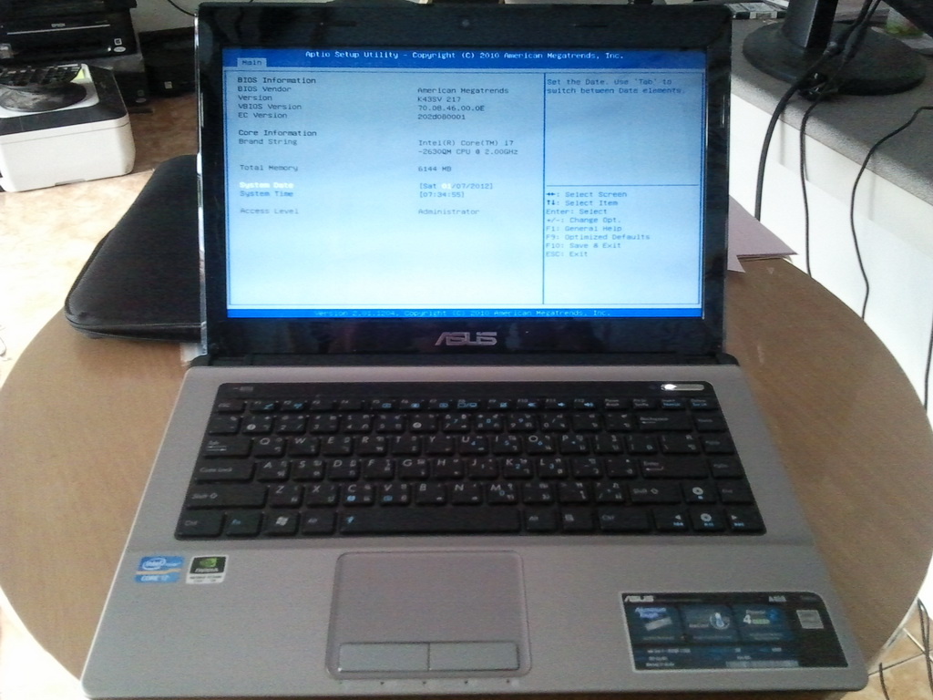 ASUS A43S Driver XP