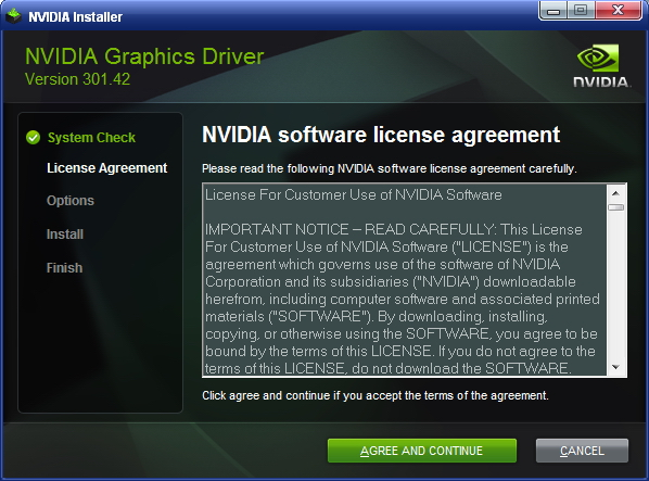 Driver 175.19 for GeForce 7300 SE/7200 GS and Windows XP 32bit