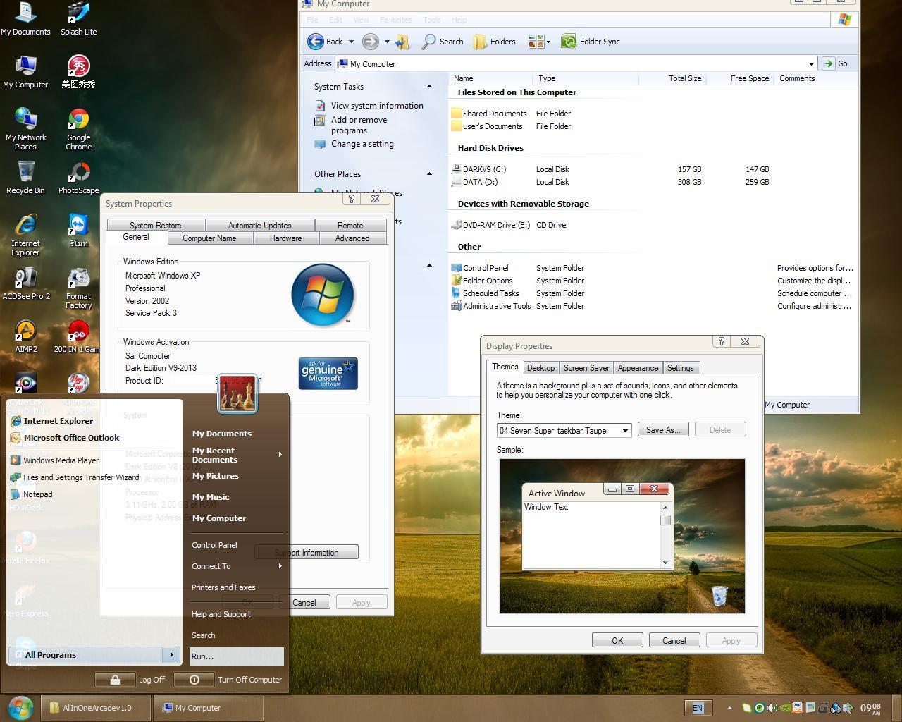Download windows 7 lite dark netbook edition
